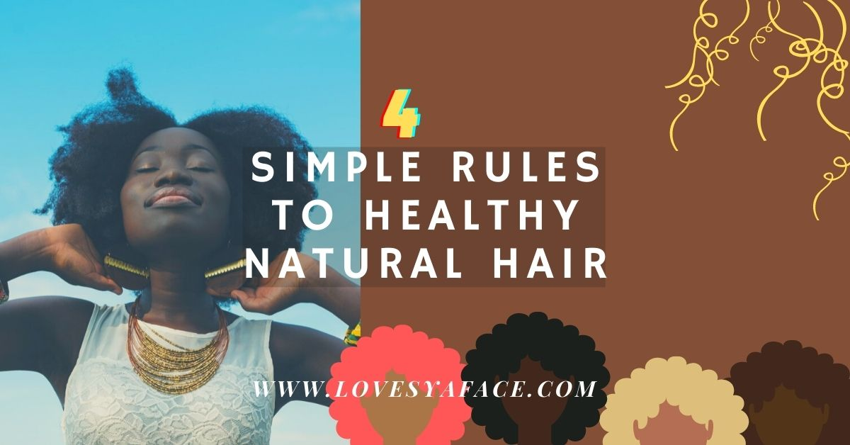 how to healthy natural hair